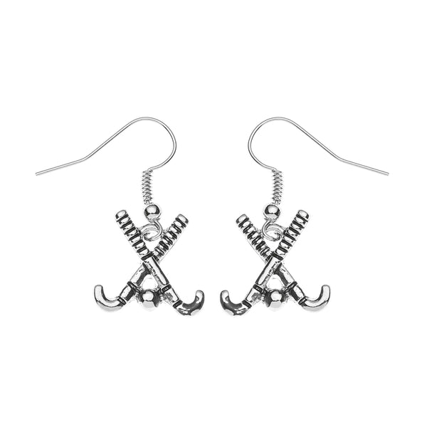 Field Hockey Stick Earrings