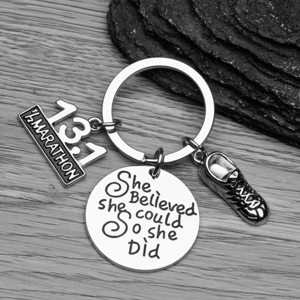 13.1 Keychain, She Believed She Could