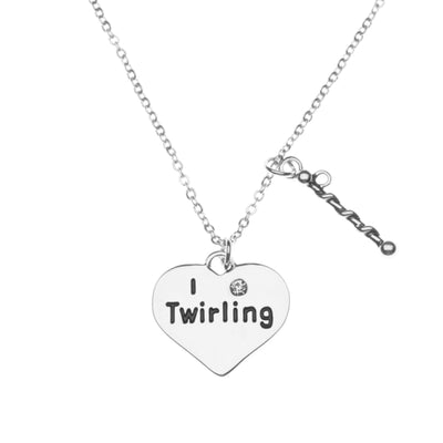 Baton Twirling Necklace