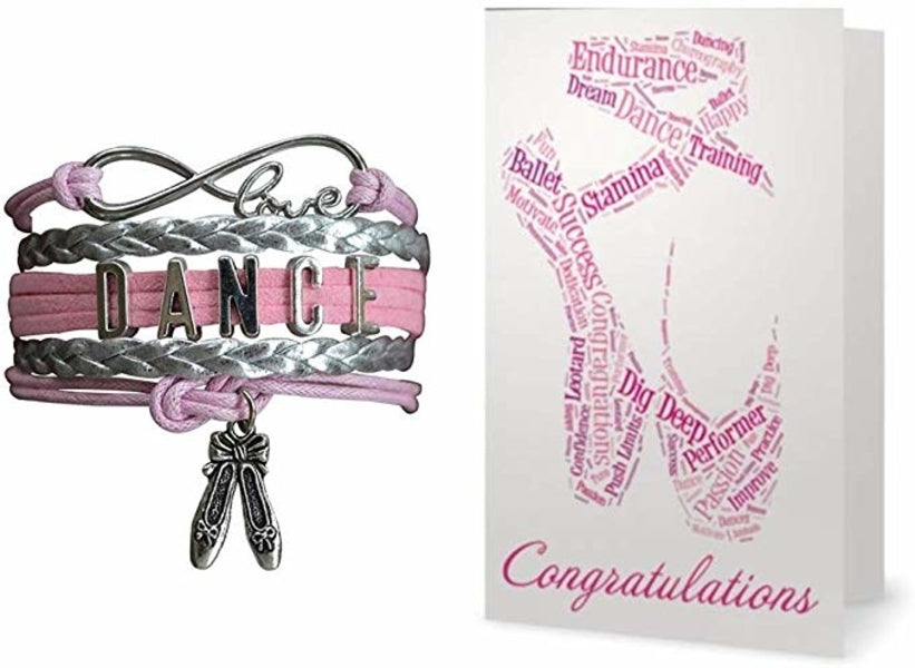 Dance Bracelet & Card Gift Set