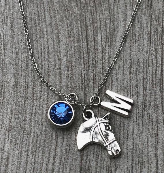 Personalized Equestrian Necklace