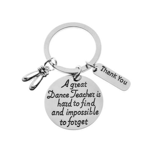 Dance Teacher Keychain - Sportybella