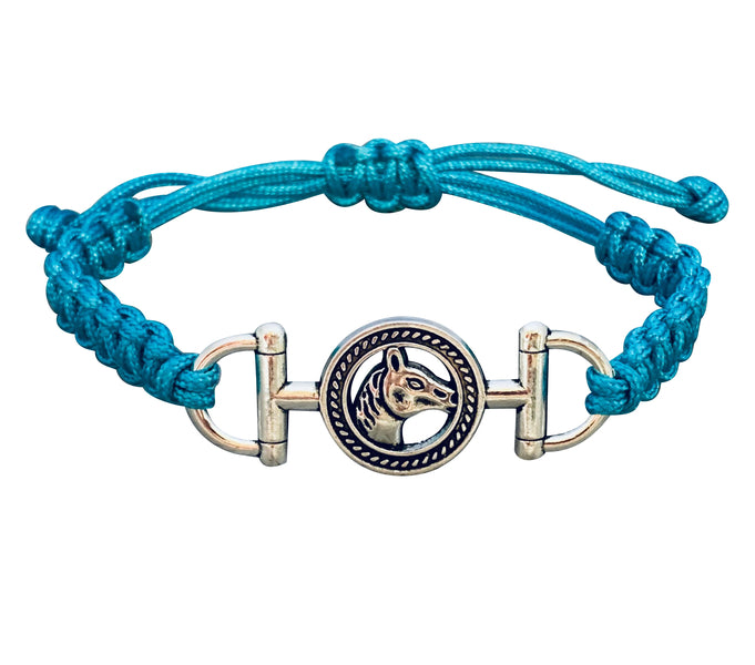 Horse Rope Bracelet - Pick Color