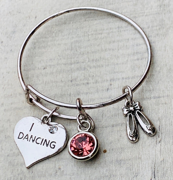 personalized dance bracelet