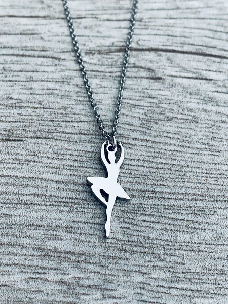 Dance Stainless Steel Necklace