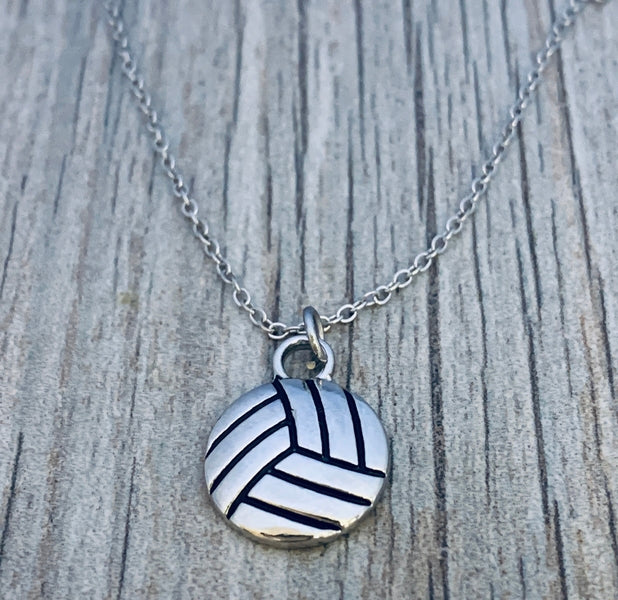 Volleyball Charm Necklace