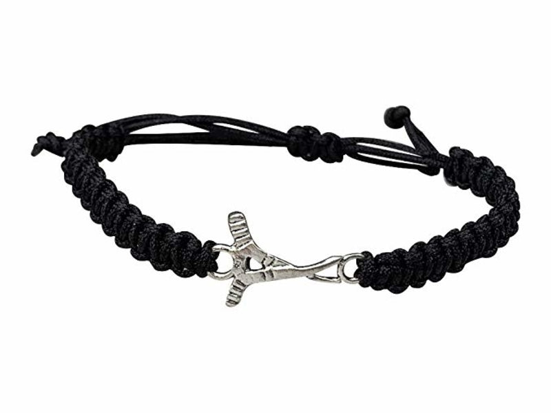 Ice Hockey Rope Bracelet - Pick Color