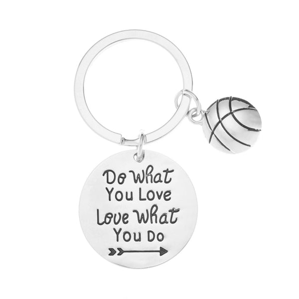 Basketball Keychain - Do What You Love