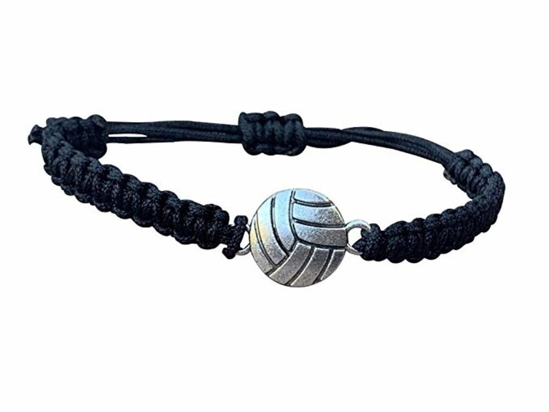 Volleyball Rope Bracelet - Black