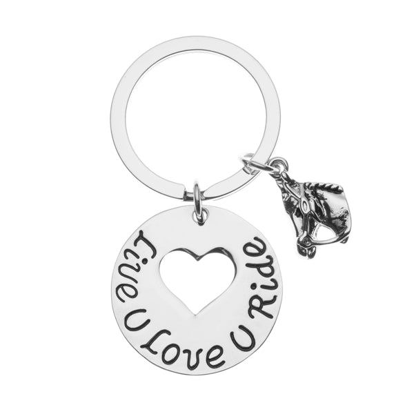 Live Love Ride Keychain