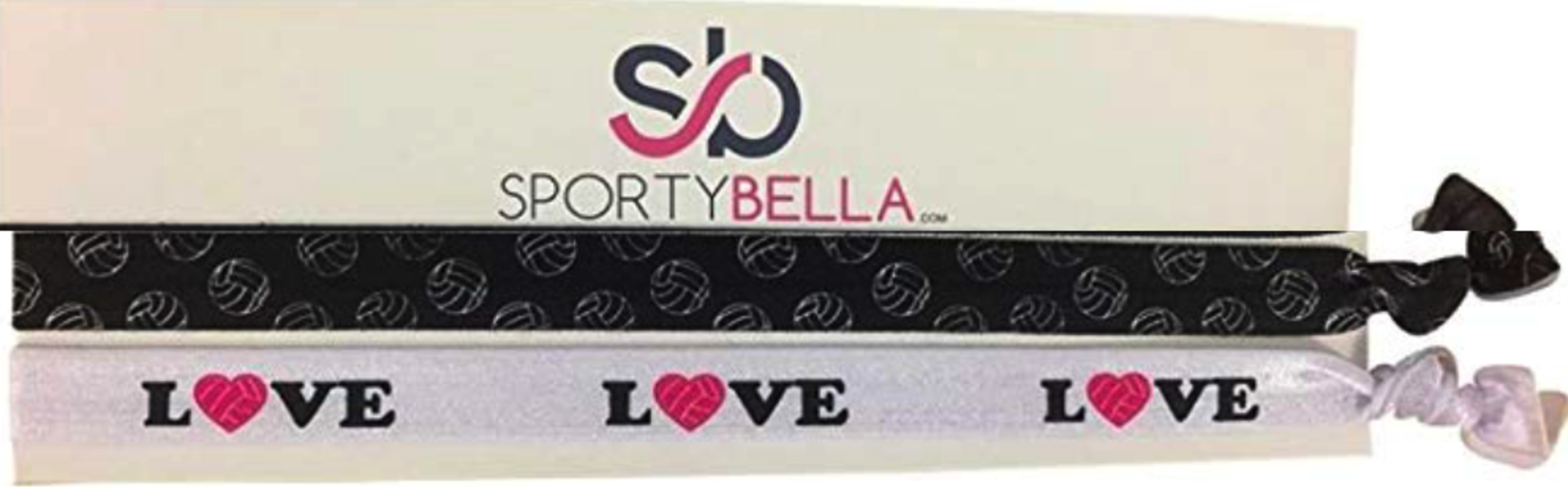 Love Volleyball Headbands - 2pc Set