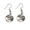 Softball Earrings- Baseball Earrings