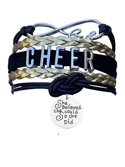 Cheer Bracelet- She Believed She Could