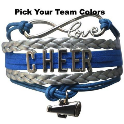Cheer Infinity Bracelet - 22 Team Colors
