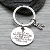 Dance Christian I Can Do All Things Through Christ Keychain - Sportybella