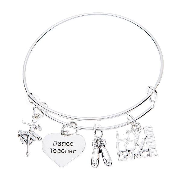 Dance Teacher Bangle Bracelet - Sportybella