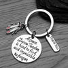 Ballet Dance Great Teacher is Hard to Find Keychain