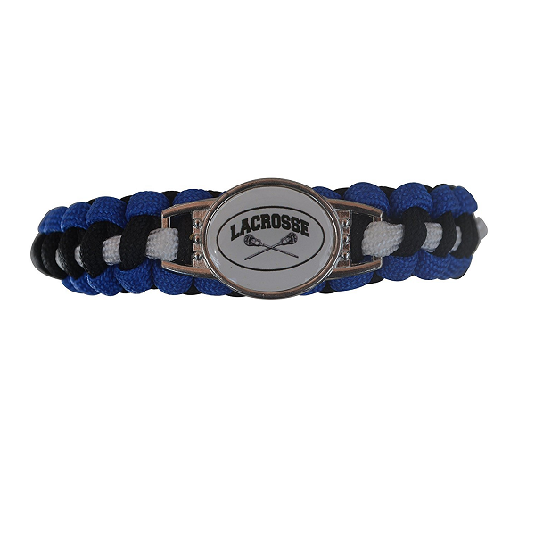 Girls Lacrosse Paracord Bracelet Jewelry