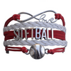 Softball Bracelet- Red
