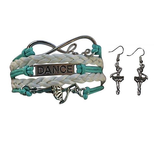 Girls Dance Infinity Jewelry Set - Sportybella