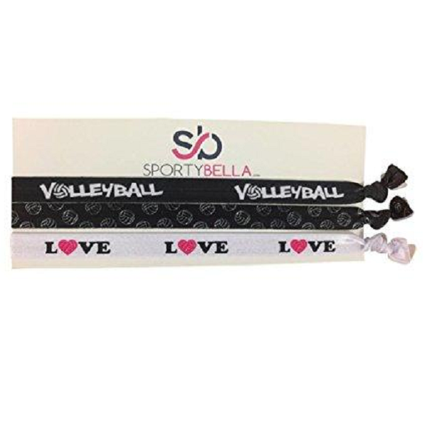 3 Volleyball Headbands Infinity Collection Volleyball Hair Accessories for Volleyball Players