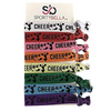 Cheer Multi Colored Hair Ties - Sportybella