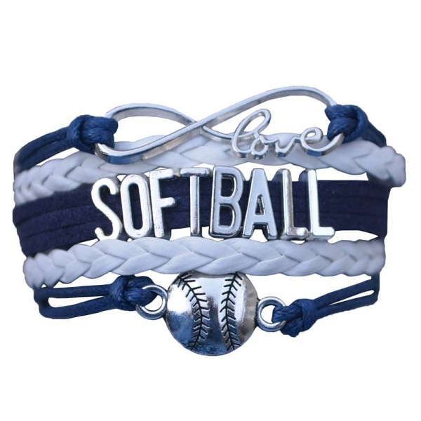 Softball Bracelet- Navy