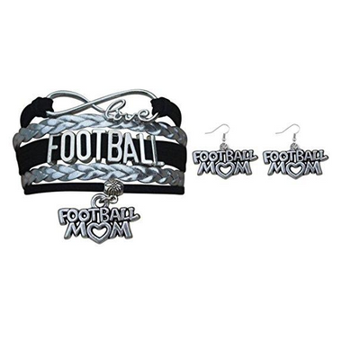 Football Mom Jewelry Set - Sportybella
