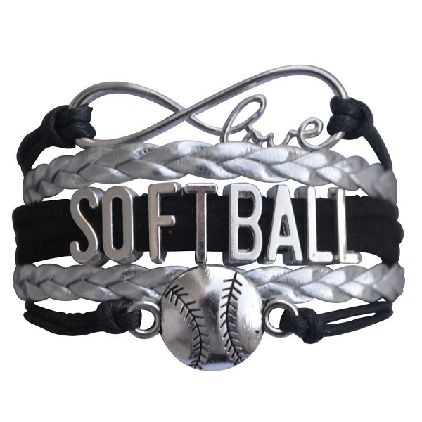 Softball Bracelet- Black