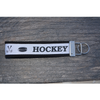 Girls Ice Hockey Wristlet Keychain - Sportybella