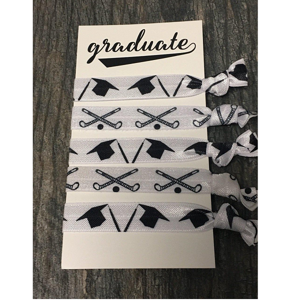 Graduation Field Hockey Hair Accessories