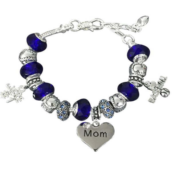 Baseball Mom Beaded Bracelet - Sportybella