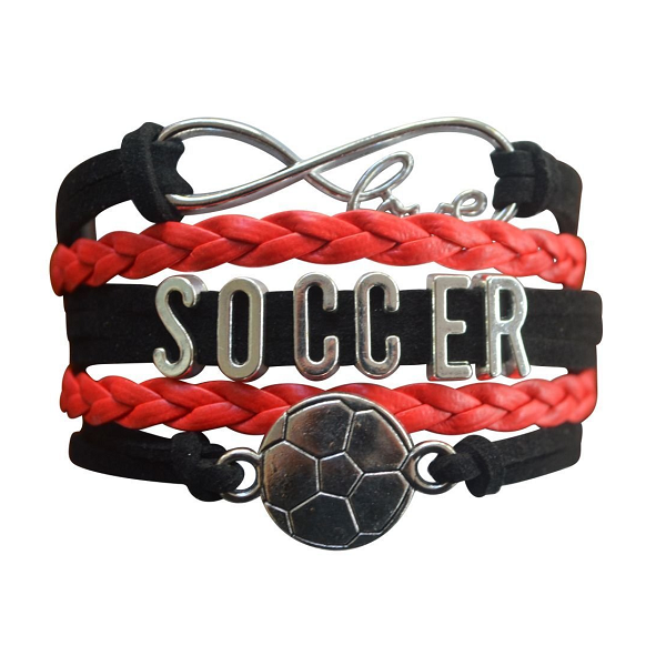 Girls Soccer Bracelet - 12 Team Colors