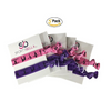 Gymnastics Hair Ties - Purple Pink