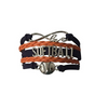 Girls Softball Bracelet- 21 Team Colors - Sportybella