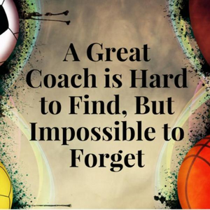 Cheer Great Coach is Hard to Find But Impossible to Forget Keychain - Sportybella