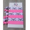 Field Hockey Hair Accessories - Pink - Sportybella