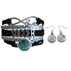 Girls Soccer Infinity Jewelry Set