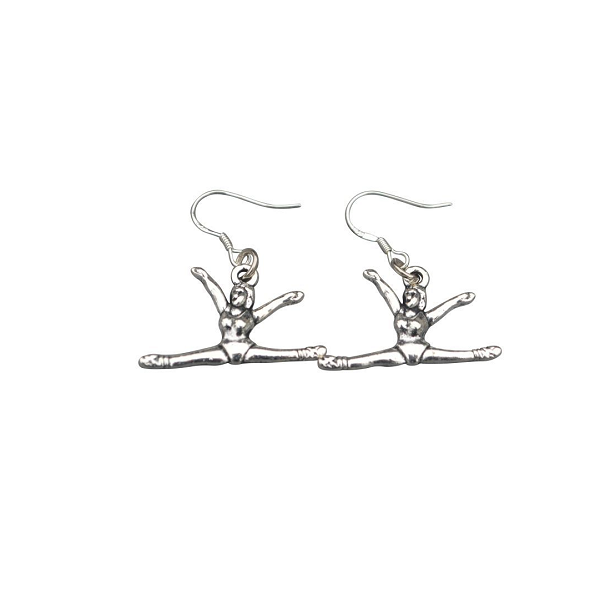 Girls Gymnastics Earrings - Split - Sportybella