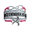 Girls Field Hockey Infinity Bracelet Jewelry - Sportybella