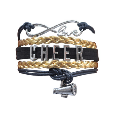 Cheer Infinity Bracelet - 22 Team Colors - Sportybella