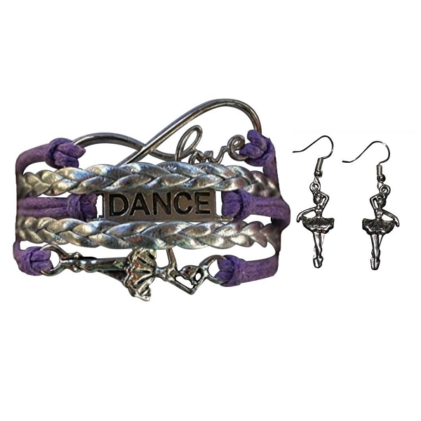 Girls Infinity Dance Jewelry Set - Sportybella