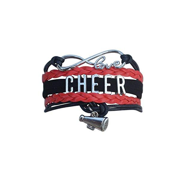 Cheer She Did Bracelet - 22 Team Colors - Sportybella