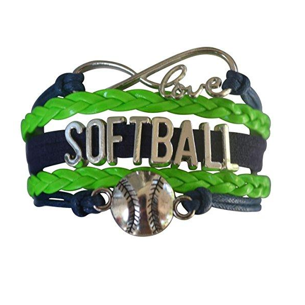 Softball Bracelet-Green