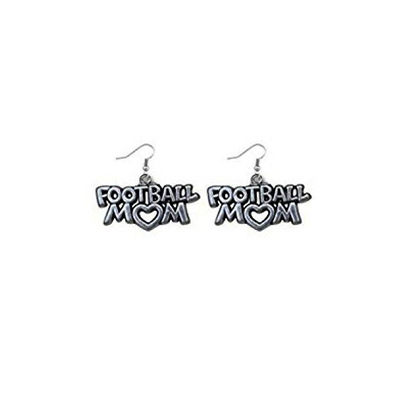 Football Mom Earrings - Sportybella