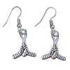 Ice Hockey Stick Earrings