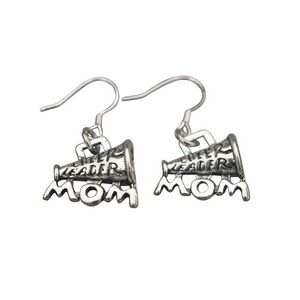 Cheer Mom Earrings for Cheerleading Moms - Sportybella