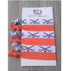 Field Hockey Hair Accessories - Orange - Sportybella