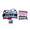 Girls Infinity Cheer Gift Set (Bracelet & Hair Ties) - Sportybella