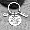 Football Great Coach is Hard to Find Keychain - Sportybella